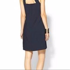 Pim + Larkin dark blue dress